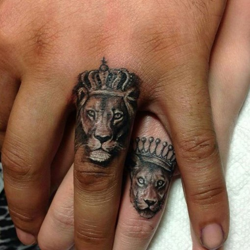tatuajes de leones para parejas tatuajes de animales. Black Bedroom Furniture Sets. Home Design Ideas