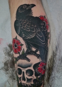 7the-black-raven-tattoo-meaning-and-design