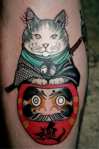 Traditional-Cat-Tattoo (1)